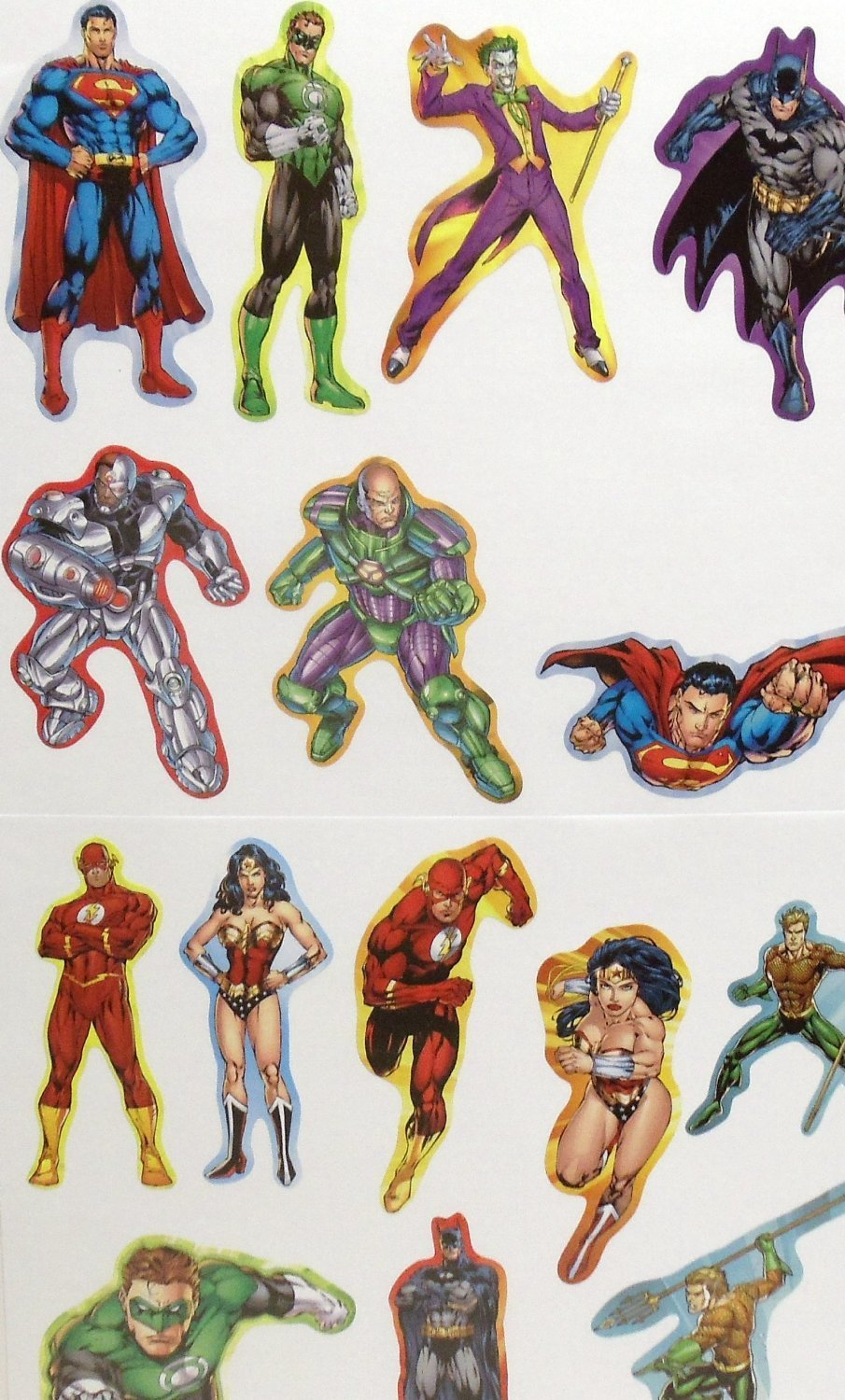 0-12M DC Comics Justice League Milestone Photo Prop Stickers Gift Set Baby Boy