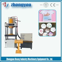 manual compress mini towel briquetting press machine