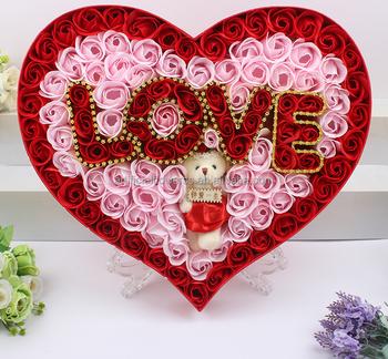 52 Gambar Bunga Mawar Bentuk Love Terlihat Keren Gambar Bunga
