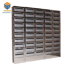 Custom High Precise Stainless Steel Outdoor Mailbox For Apartments