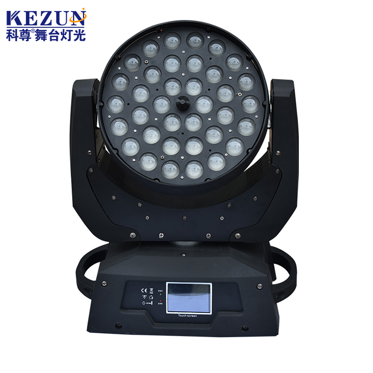 Light stage 36pcs 4in1 rgbwa led moving head lights for performance
