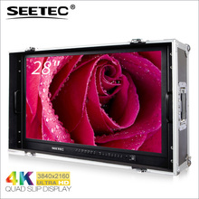28 inch professional broadcast lcd monitor TV news production ultra-HD resolution 4k desktop display