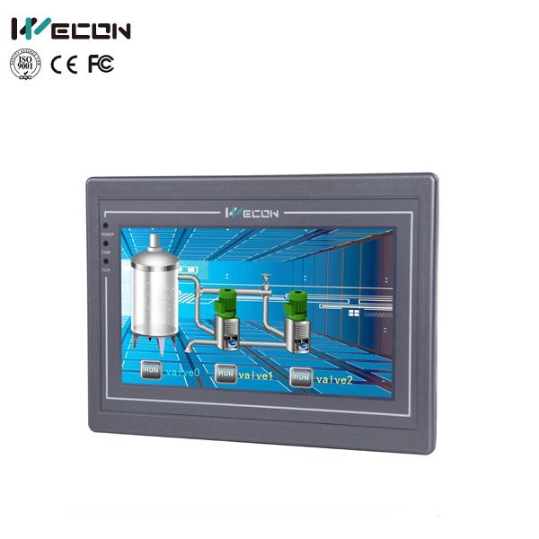 Wecon 7 Inch Advanced Hmi Panel Pc Support Modbus Rtu