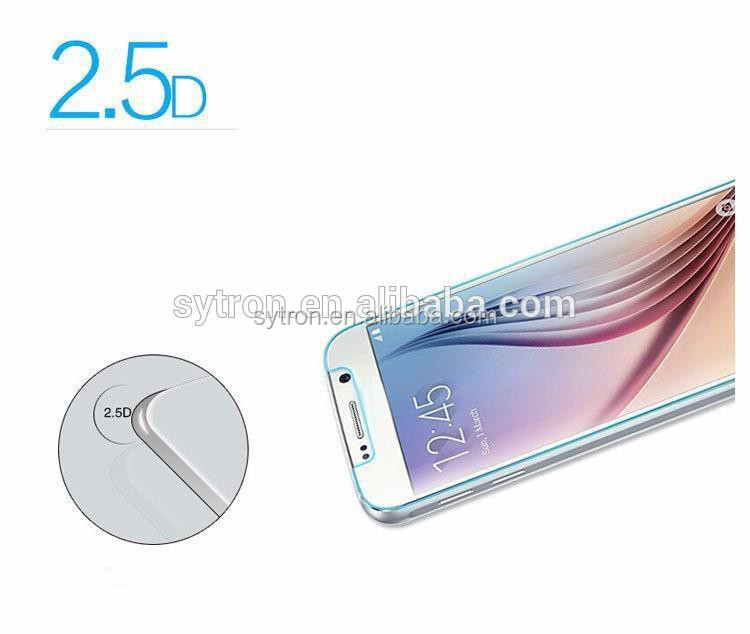 New!Hot Selling Ultra 2.5D Curved Tempered Glass Screen Protector for Samsung Galaxy S6 Edge