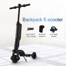 2018 newest 2 wheel foldable smart balancing electric scooter backpack e scooter