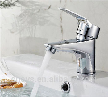 Brass Chrome Bathroom Waterfall Basin Faucet Vessel Single handle Sink Mixer Tap