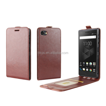 Low Price Premium Crazy Mobile Phone PU Leather Cover For Blackberry Motion Flip Case