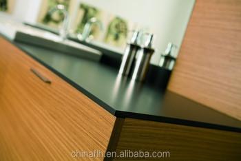 Custom Cut Solid Surface Hpl Compact Laminate Kitchen Countertop