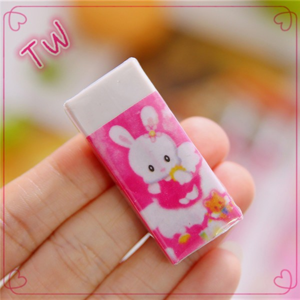 New coming 2017 top selling gifts fancy kids stationery set ,Logo custom printed small moq plastic cartoon pencil eraser sets
