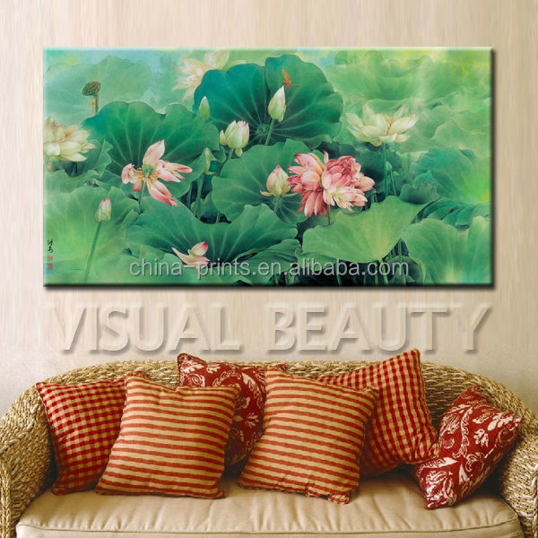 Newest Famous Oil Paintings Of Flowers By Chinese Artist