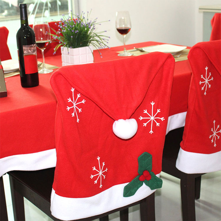 Home Decoration Table Covers Christmas Chair Cover