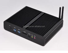 New Intel 5th Gen Core i7 5500U Mini PC Mini Computer Window 10 compatible Minipc 4K HD HTPC TV box 2* LAN