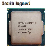 latest cpu processor core i5 6400 2.70 GHz 6th Generation i5 Processorss support DDR4 Memory