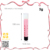 Tremendous layer rainbow color crayon shape 3g roll on lip gloss vial