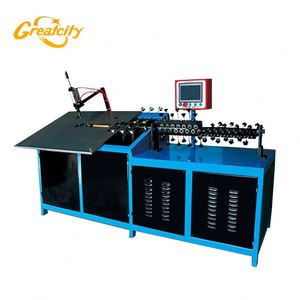 Widely Used 4axis hydraumatic stainless steel/iron 2d wire bending forming machine for making skeleton wire arts and craft
