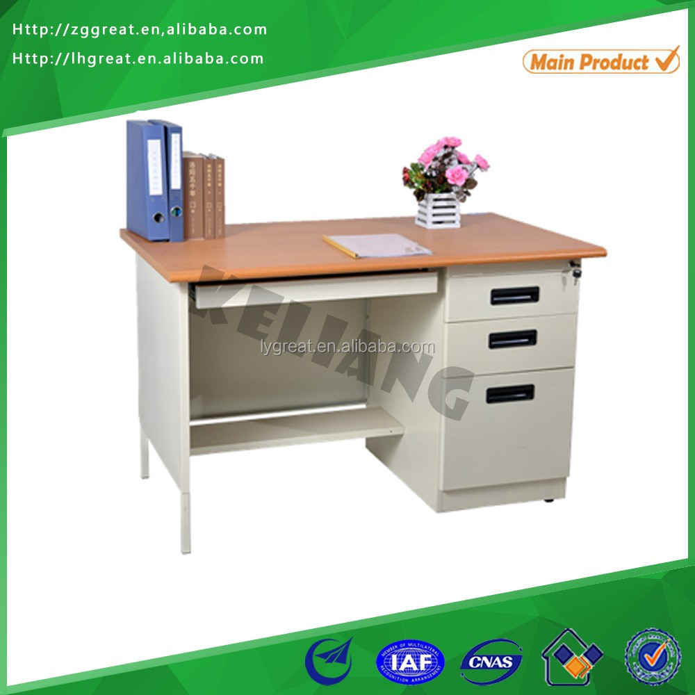 Hot sale used to work computer desk/latest computer table models with prices