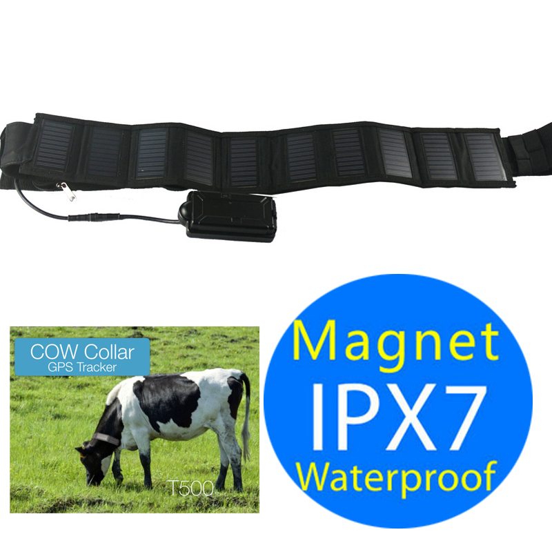 solar sun powered cow pet tracker gps collar for hospital