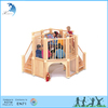 2017 used children wooden outdoor indoor toys equipment playground for kids
