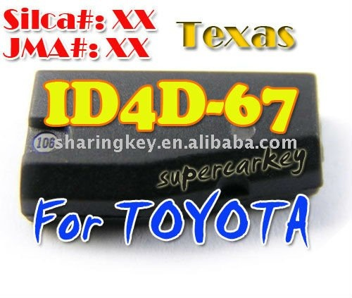 highly Quality ID 4D-67 Chip