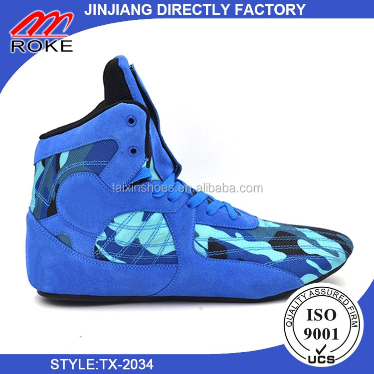 2016 new model wholesale wrestling shoes from directly factory