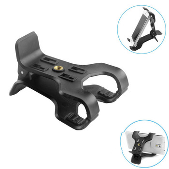 "Smilinmount Newest Universal Double Clip Mount Holder for 3.5""-7"" Smartphone and Tablet"