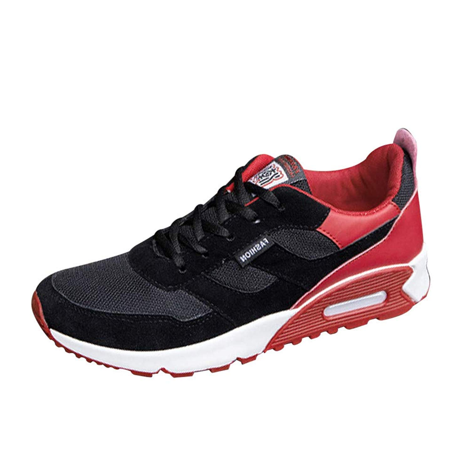 Sneakers for Men,Clearance Sale! Caopixx Men's Running Shoes Lightweight Non-Slip Gym Athletic Sneakers