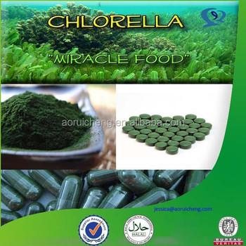chlorella vulgaris or pyrenoidosa