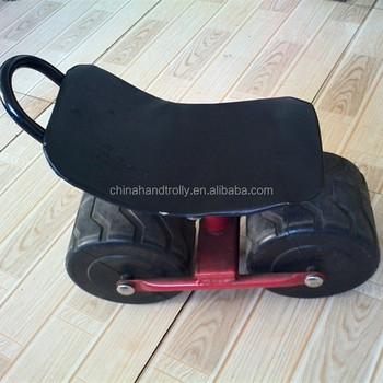 Wheeled Garden Chair Rolling Seat Cart Tool Cart TC1411
