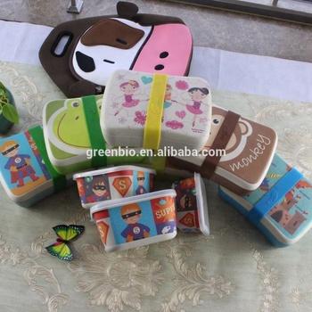 Bamboo Fiber Lunchbox Kids Lunch Box Buy Lunchbox Bamboo Lunchbox