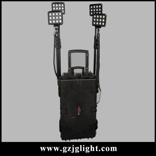 LED Construction Site Light 3 Meter Power Cable IP57 Work Spotlight Lamp