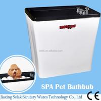 pet bathtub plastic massage bath MG333-13 black acrylic product dog grooming baths