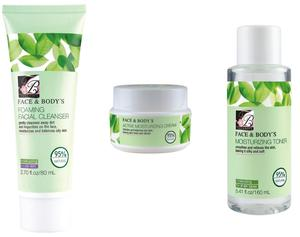 OEM cosmetics natural skin care products moisturizes and balance oily skin