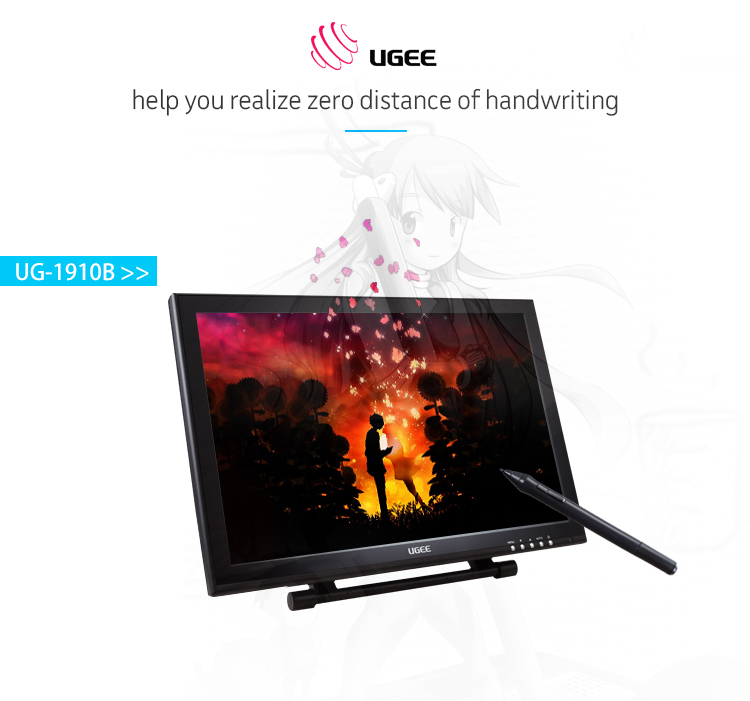 Fcc,Ce,Ccc,Rohs,Pse Certifications Hd 1440*900 Screen Ugee 1910b - Buy Ugee  1910b,Ugee 1910b,Ugee 1910b Product on Alibaba com