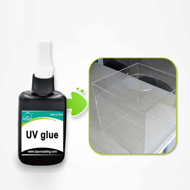 الغراء السائل للأشعة فوق البنفسجية القابلة للشفاء للترابط الزجاجي ولصق المعادن