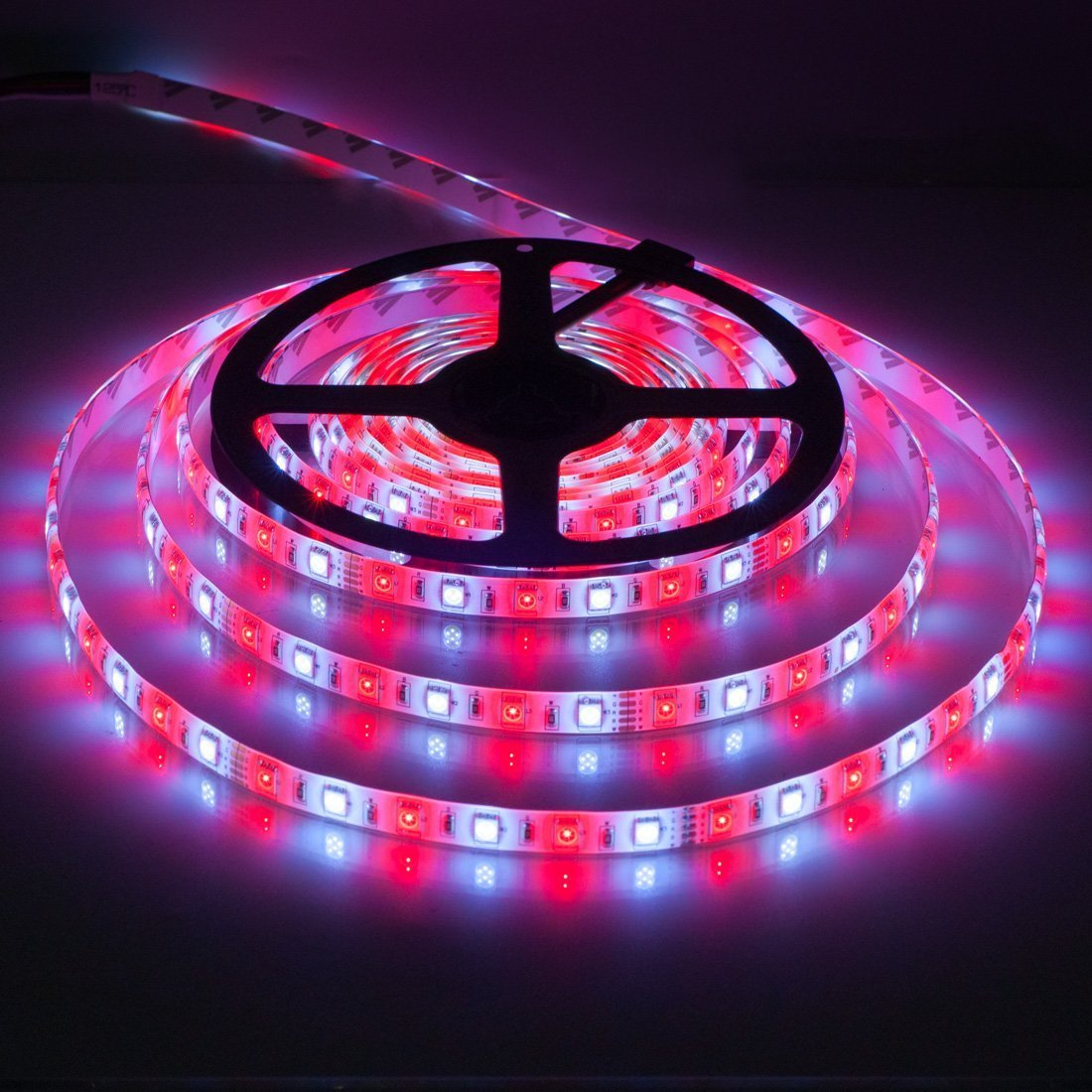 Lighting-Source 5050 RGBW RGB+Whtie Strip 5M 16.4ft 60leds/m IP65 Waterproof in slicone Coating Mixed Color led Strip