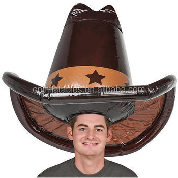 Halloween Inflatable Cowboy Hat b9b64e9272c