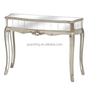 Antique mirrored hobby lobby furniture console table