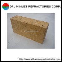 high refractoriness FXN-40 fire clay/ fireclay bricks for glass oven