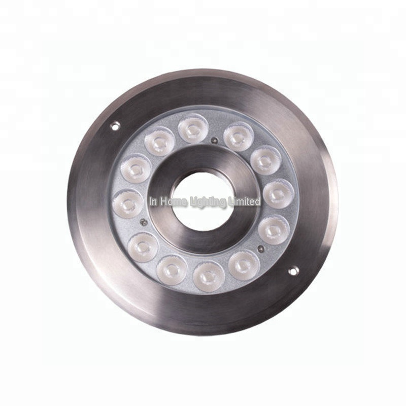 12 v/24 v LED Underwater Lights Fontana IP68 Impermeabile Anello di Luce