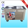 2017 Flat Pan Frozen Yogurt Real Fruits Fry Ice Cream Machine