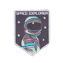 SPACE EXPLORER Galaxy Planet Custom astronaut out space sew iron on Patch Badge Embroidery