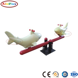 KINPLAY brand 2018 most popular marine animals children sport outdoor seesaw for sale