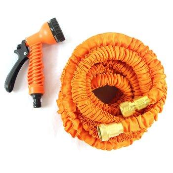 Stretch hose garden