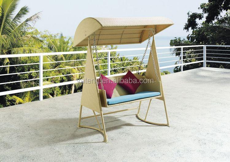 modern design waterproof outdoor garden plastic rattan