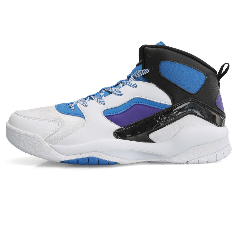 Basketball shoes male 2015 shock absorption wear-resistant slip-resistant breathable medium cut sport shoes male shoes