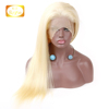 Wholesale 613 Lace Front Wigs For Black Women Brazilian Straight Blonde Pre Plucked Hairline Lace Wigs With Baby Hair