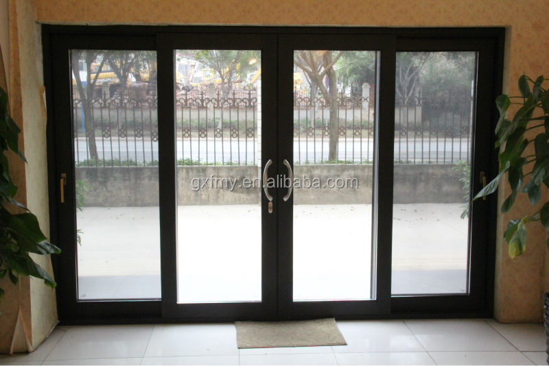 Dual sealed units tempered glass lowes french doors for Used exterior french doors