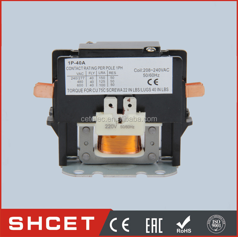 CJX9-3P 25A 1/ 3 Phase Contactor air break contactor Electrical Air Conditioning Magnetic Contactor