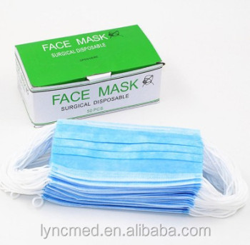 face mask earloop disposable