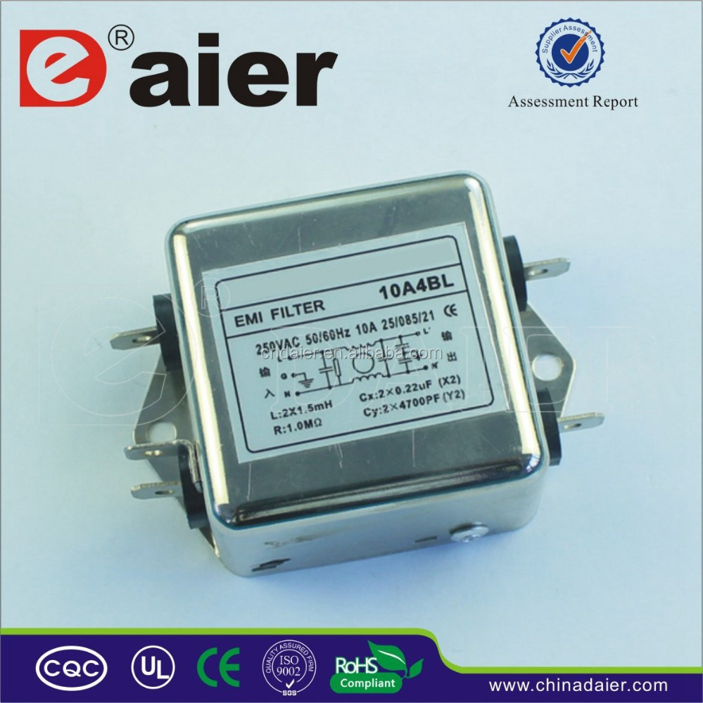 High Quality Emi Power Rfi Noise line Filter